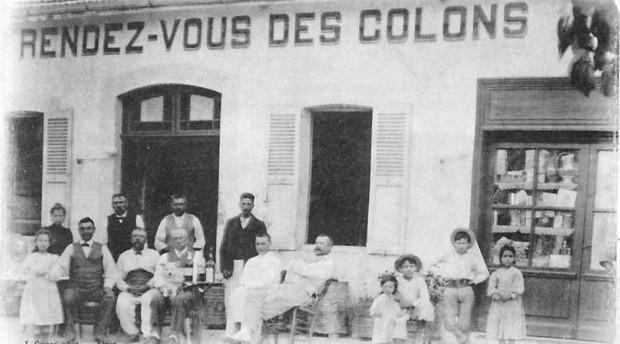 SOUK-EL-HADD (Algérie) : Café Hôtel et épicerie