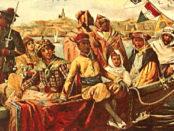 Affiche de l'exposition coloniale de Marseille de 1906 (détail)